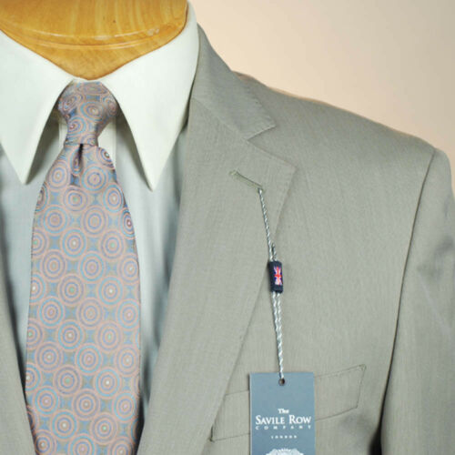 48L SAVILE ROW Tan Pincord SUIT SEPARATE  48 Long Mens Suits SS44