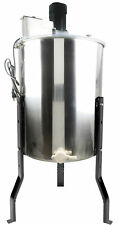 VIVO Electric Four 4 Frame Stainless Steel Honey Extractor (BEE-V004E)