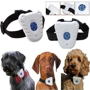 Ultrasonic-Dog-Anti-Bark-No-Stop-Barking-Control-Collar-Train-Training-Device-W