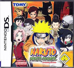 NDS-Naruto-Ninja-Council-Nintendo-DS-komplett-mit-Spielanleitung