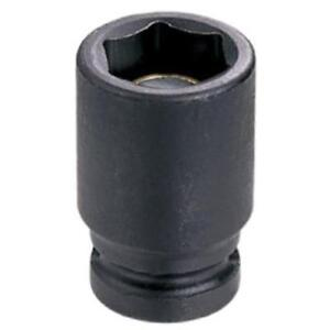 Grey-Pneumatic-908MG-1-4-034-Drive-Standard-Metric-Magnetic-Impact-Socket-8mm