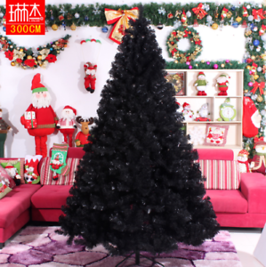 Black Artificial Christmas Tree Holiday Indoor Plastic Stand Base Xmas Home New Ebay