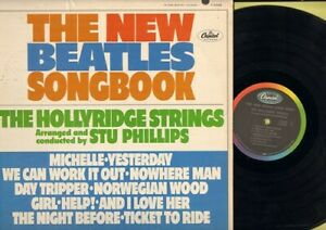 Hollyridge-Strings-The-New-Beatles-Songbook-Vinyl-LP-Record-Free-Shipping