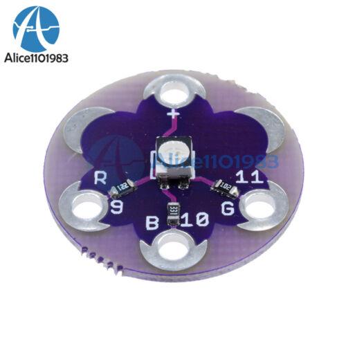 5PCS New LilyPad Tri-Color LED RGB For arduino