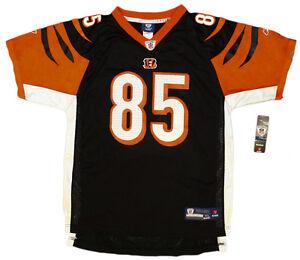 new concept e2f74 c14d8 Details about C. Johnson - Authentic NFL Bengals Jersey - Youth/Boys