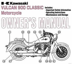 2010 kawasaki vulcan 900 classic motorcycle owners manual vulcan rh ebay co uk 2009 vulcan 900 custom owners manual 2009 vulcan 900 classic owners manual
