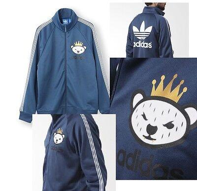 Rare nigo bear x adidas originals jackethoodie