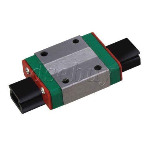 10mm Thick 35mm Length Linear Guide Rail Sliding Block MGN12C
