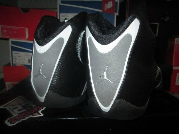 SALE AIR JORDAN XX1 21 XXI XXI XXI nero FLINT grigio LEATHER 313511 001 SZ 11 2006 c5c2d7