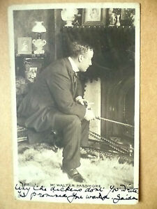 1903-Used-Antique-Postcards-Actors-MR-WALTER-PASSMORE-No-1212-Stamp
