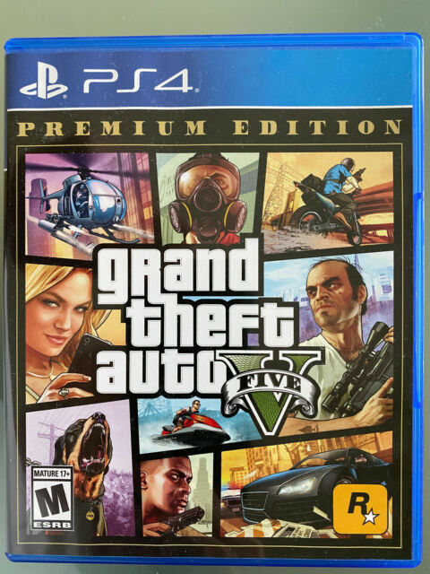 Grand Theft Auto V Premium Online Edition (Sony PlayStation 4, 2014)