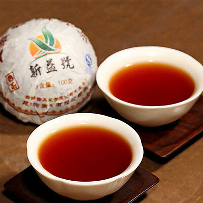 NEW ARRIVAL XIN YI HAO MENGHAI TUO CHA PUER TEA 100G RIPE COMFY