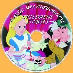 CLASSIC-CHILDRENS-NOVELS-WIZARD-OF-OZ-ALICE-HEIDI-80-MP3-AUDIOBOOKS-PC-DVD-NEW