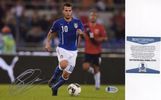 339c79a70 Sebastian Giovinco Signed Italy Italia 8x10 Photo BAS COA Autograph Toronto  FC