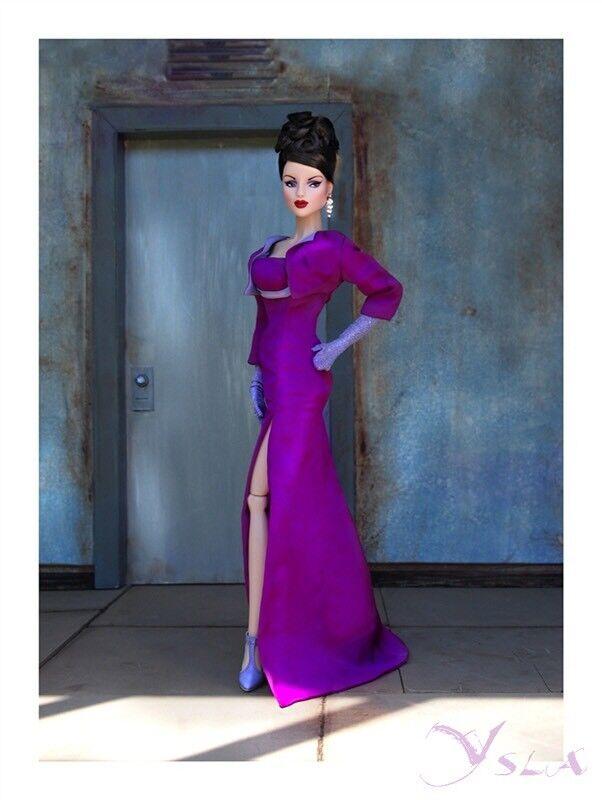Horsman Muñeco Vintage Ysla Minuit púrpuraa 28473