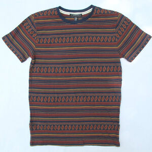 60-OFF-AUTH-FOREVER-21-MEN-TRIBAL-PATTERN-TEE-EXTRA-SMALL-BNEW-US-14-90