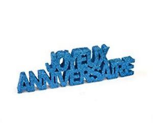 1-decoration-de-table-034-JOYEUX-ANNIVERSAIRE-034-turquoise-pailletee-12-x-3-6-cm