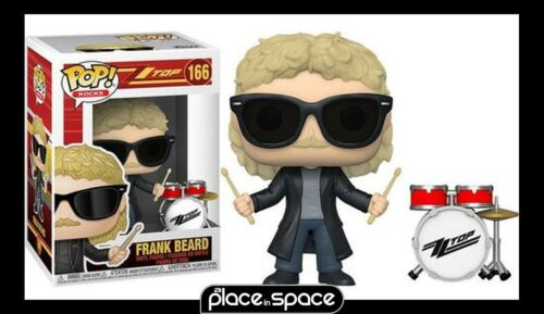 FRANK BEARD FUNKO POP POP VINYL FIGURE #166 ROCKS:ZZ TOP