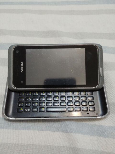 Nokia E Series E7-00 - 16GB - Silver White (Unlocked) Smartphone copy!