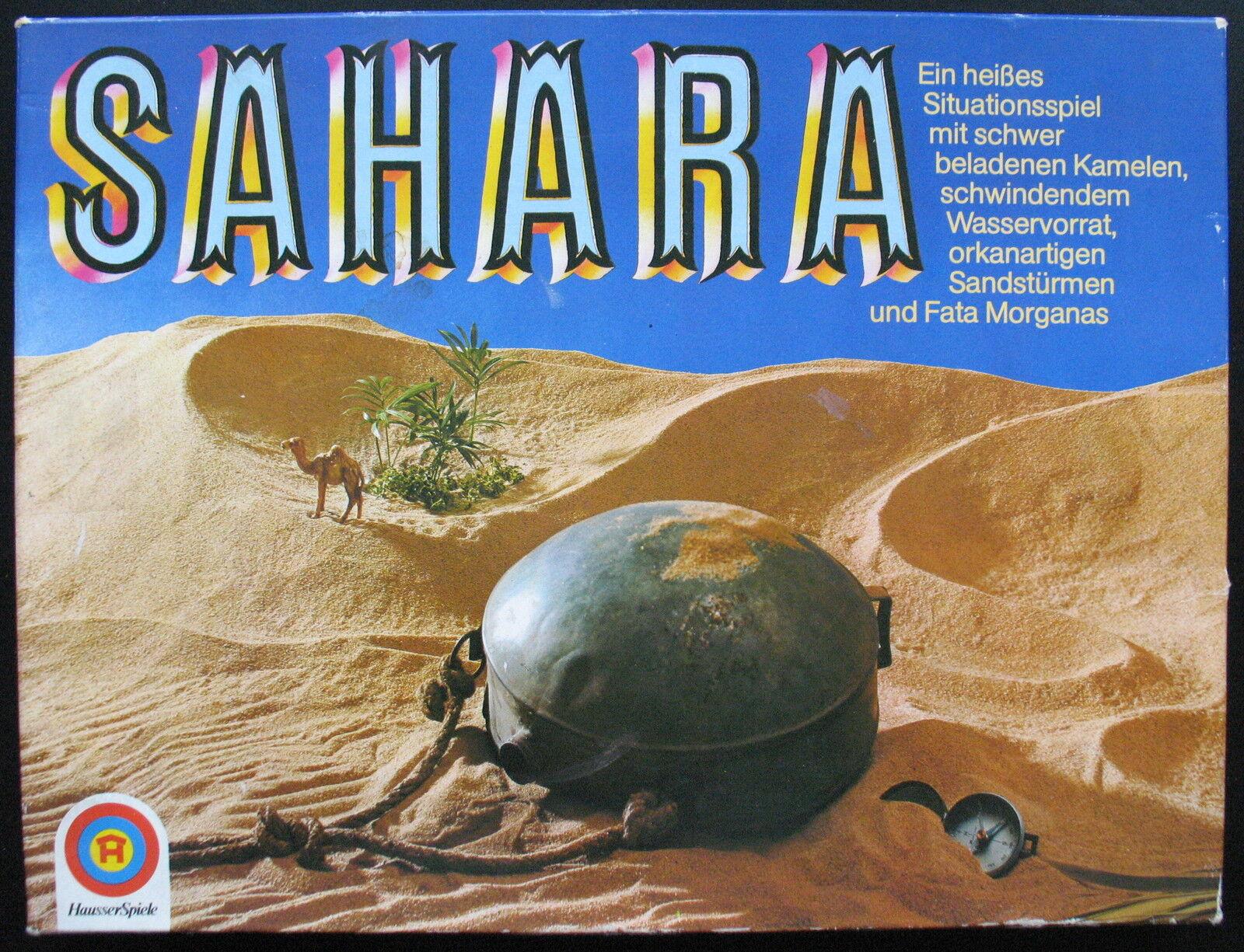 Hausser spiele 1410 - sahara - brettspiel