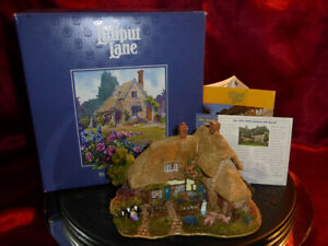 LILLIPUT-LANE-The-Good-Life-L2237-1999-2000-Collector-039-s-Special-Edit-Box-Deeds