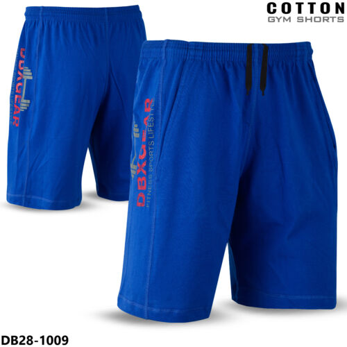 Hommes Gym Short en coton Entraînement Training Sports Running Jogging Exercice Tous Taille