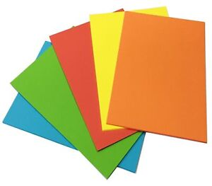 A4 Coloured Card Making Sheets Craft Card Paper Art Activity