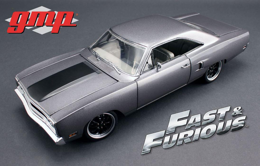 1 18 GMP 1970 Plymouth Road Runner presque & Furious Tokyo Drift Marteau