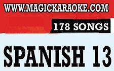 Magic Sing SPANISH 13 178 Song Chips Magic Mic Todo modelo Compatible