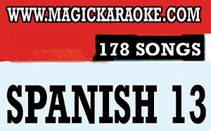 Magic-Sing-SPANISH-13-178-Song-Chips-Magic-Mic-Todo-modelo-Compatible