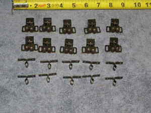 10ea-RV-Bronze-Twin-Roller-Strike-Door-Catch-Cabinet-Cupboard-Drawer-Lock-Latch