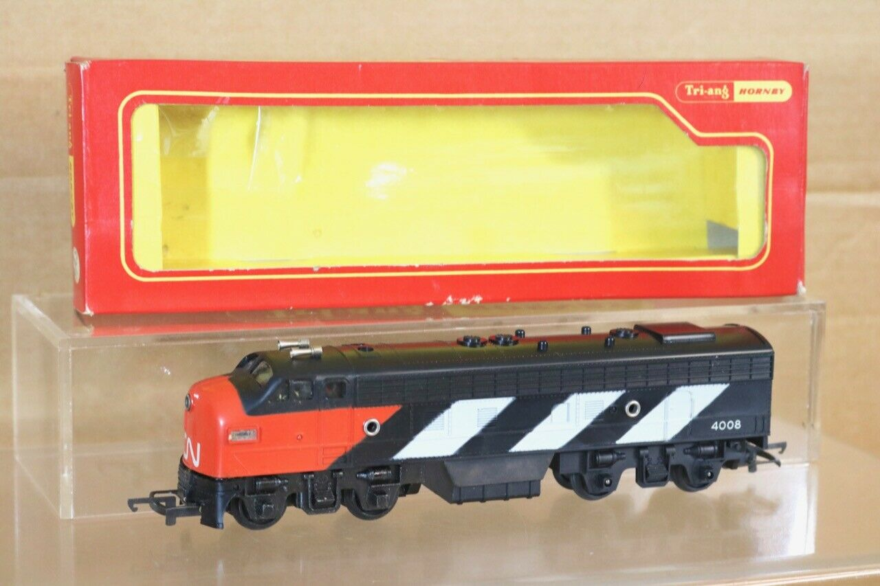 TRIANG HORNBY R55CN CANADIAN NATIONAL CN DIESEL LOCO 4008 MINT BOXED ns