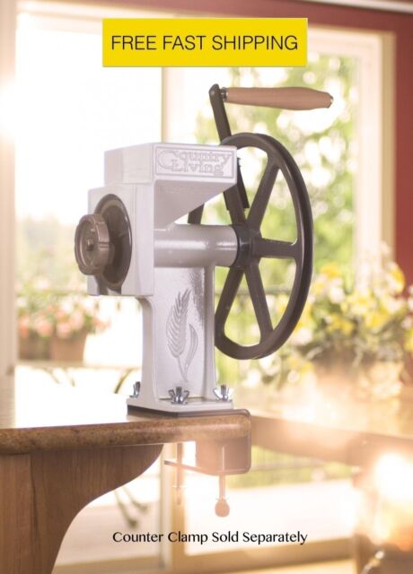 Country Living Grain Mill Grinder w Lifetime Warranty Free Shipping Authorized