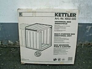 KETTLER-Freizeitmoebel-Universal-Box-Anbauteile-4802-000-WEIss-B-Ware