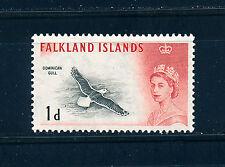 FALKLAND ISLANDS 1960 DEFINITIVES SG194 1d (BIRD)  MNH