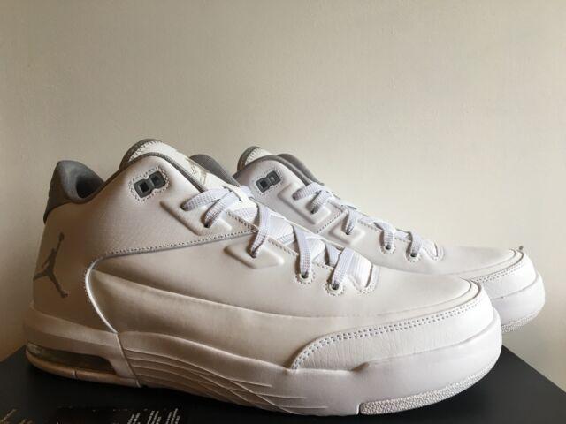 big sale 97cce bea87 Nike Jordan Flight Origin 3 Size 11.5 White Training Running Shoes 820245  100