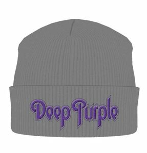 Deep Purple Beanie Hat Zuccotto Logo Official Merchandise
