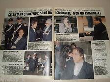 ADRIANO CELENTANO clipping articolo fotografia foto photo 1988 AS19