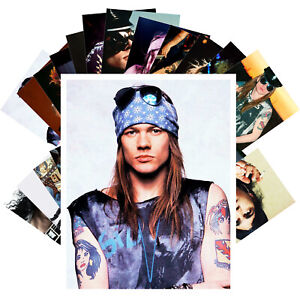 Postcards-Pack-24-cards-GUNS-N-039-ROSES-SLASH-AXL-Music-Posters-Photo-CC1323