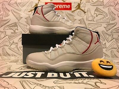 Honesty Authentic Nike Air Jordan 11 Retro Bg Gs Xi Platinum Tint 378038-016 6.5y=wmns 8 Athletic Shoes