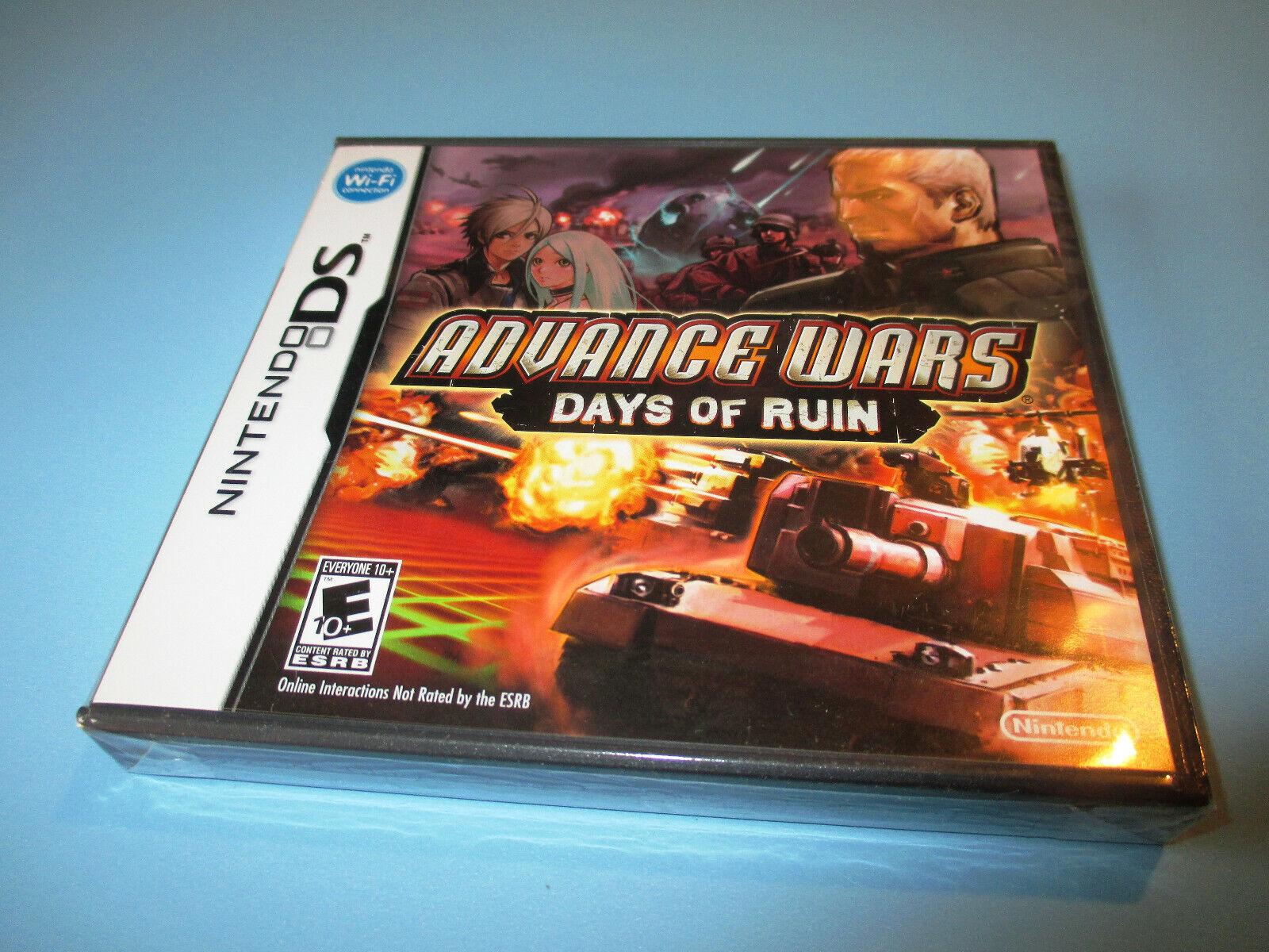 Advance Wars Days Of Ruin Nintendo Ds 2008 For Sale Online Ebay