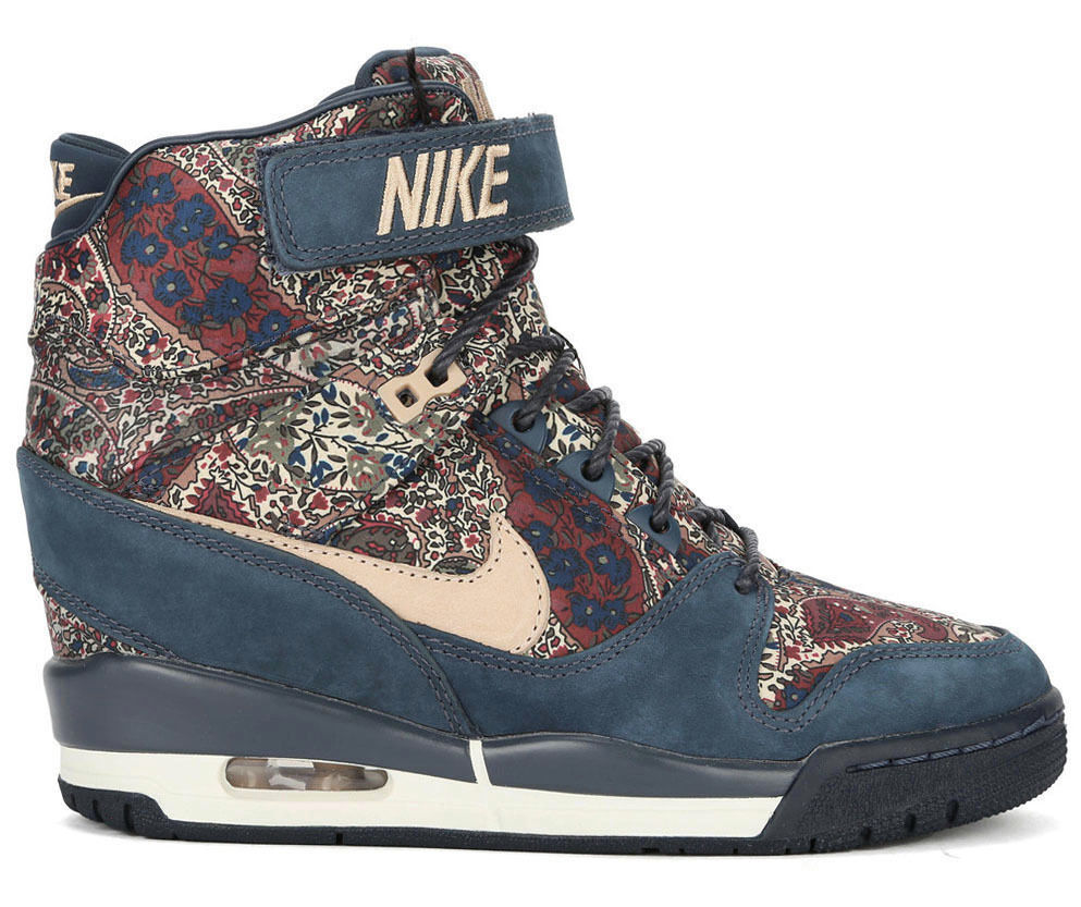 NIKE LIBERTY AIR REVOLUTION SKY HI LIBERTY NIKE OF LONDON QS US 7,5 8 sp 632181-402 dunk city 617432