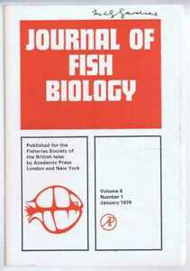 Natural History: Journal of Fish Biology. Volume 6, Number 1, January 1974