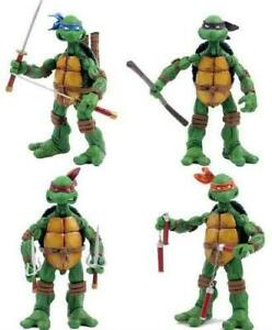 Teenage-Mutant-Ninja-Turtles-Cartoon-Version-Set-of-4-Action-5-034-Figures-26