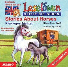 Wolf, Klaus-Peter - Leselöwen spitzt die Ohren. Stories about horses. CD