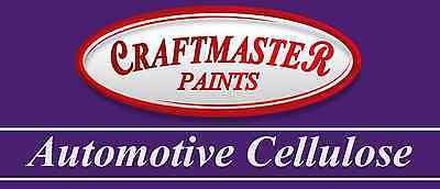 Craftmaster Automotive Cellulose BMC Colours I-Z Spay Paint 1 Litre