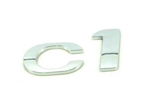 Genuine New Style CITROEN C1 BOOT BADGE Rear Emblem For All Models 2012+