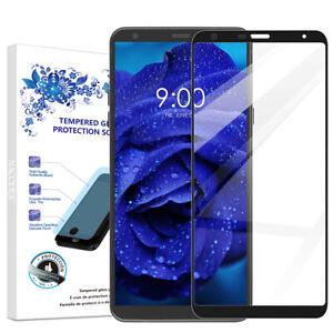 For-LG-G5-Stylus-LG-stylo-5-Full-Cover-Tempered-Glass-Screen-Protector-Black