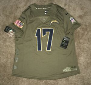 12313b8e420f Women s Medium Philip Rivers Salute To Service Los Angeles Chargers ...