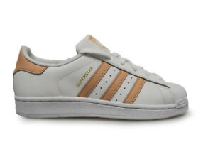 Womens Adidas Superstar W - D97778 - White Trainers